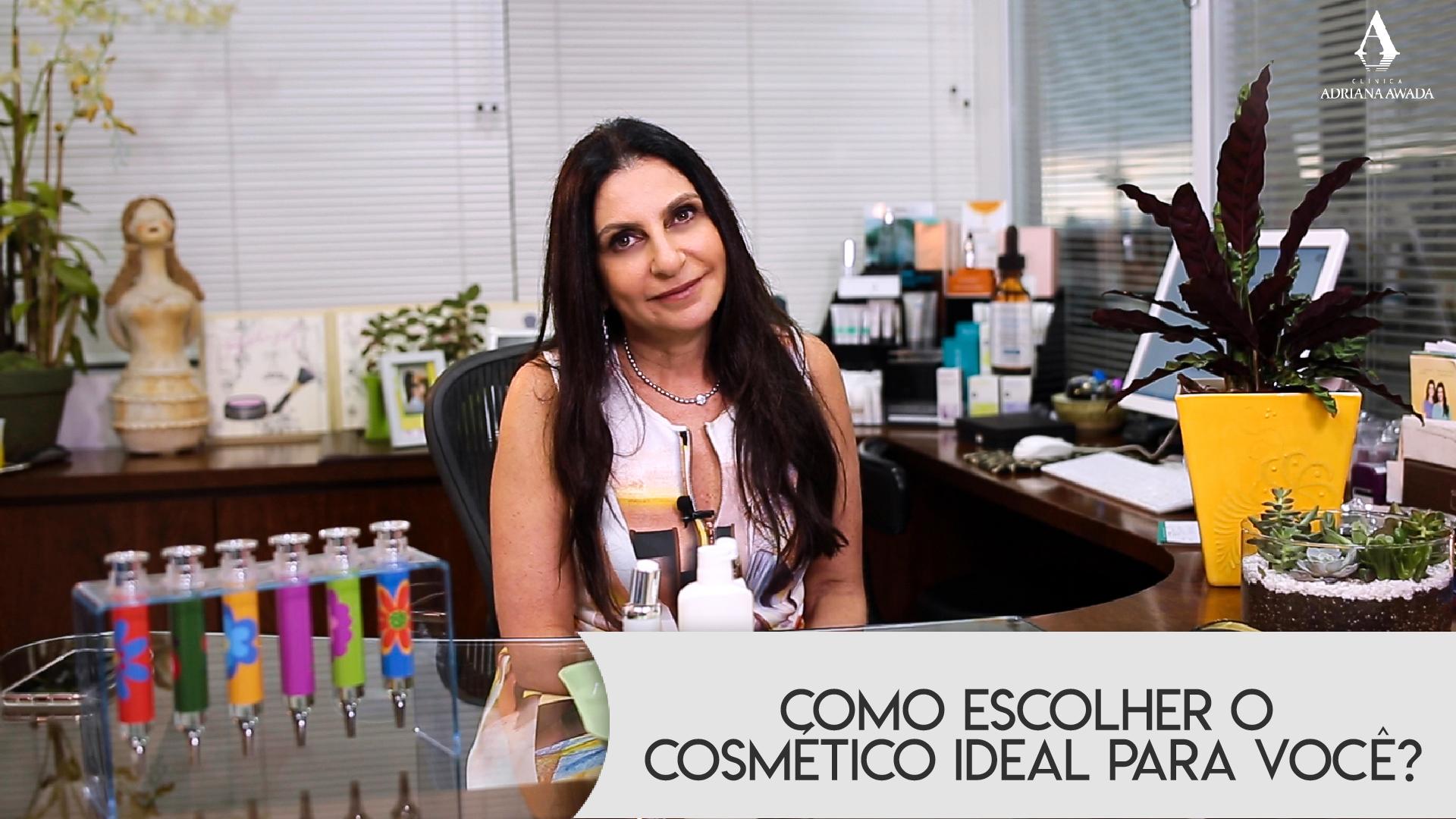 Você sabe escolher os seus cosméticos, aqueles que você tem vontade de usar? Saiba como fazer isso!